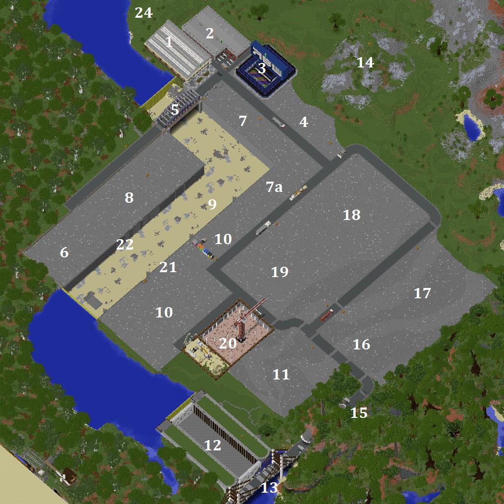 SOMMERBAUPROJEKT Industriegebiet - Minecraft lagerhauser